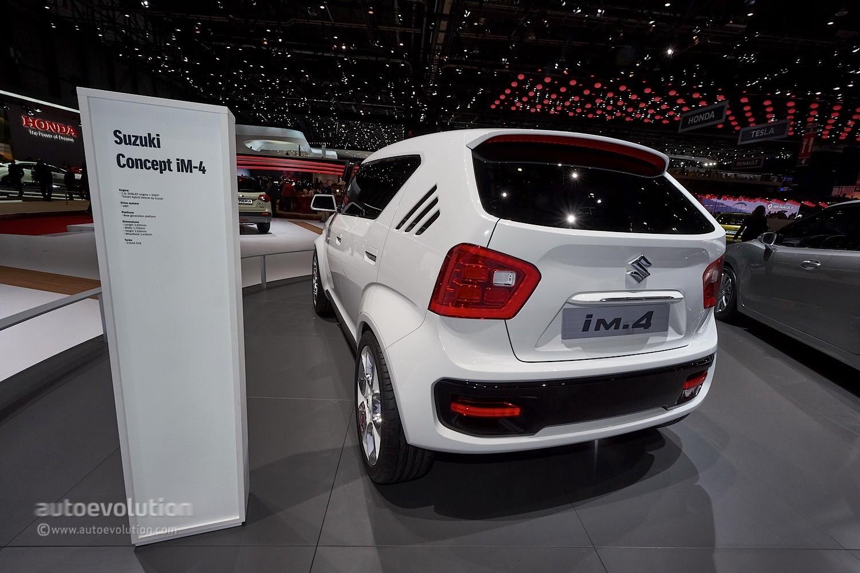 Suzuki iM-4 4x4 Concept Is A Jimny Wannabe in Geneva ...
