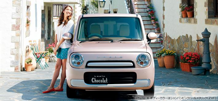 Suzuki Reveals Quot Adorable Quot Lapin Chocolat In Japan