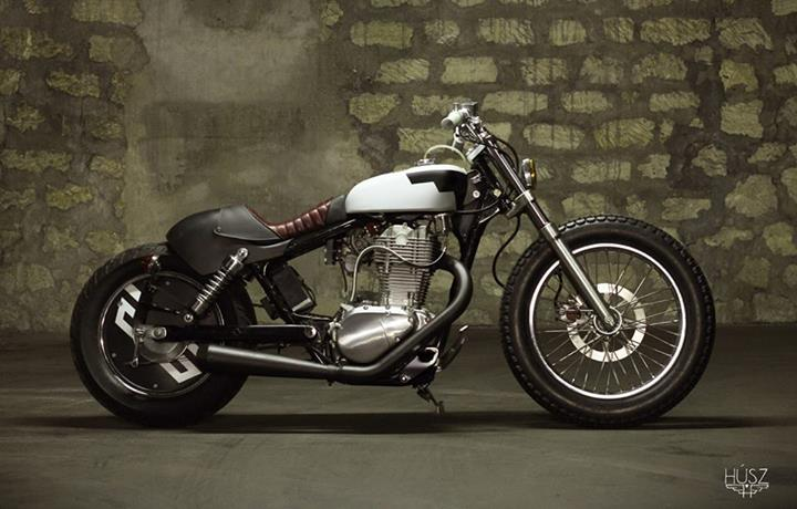 suzuki savage bobber extreme from husz autoevolution. Black Bedroom Furniture Sets. Home Design Ideas