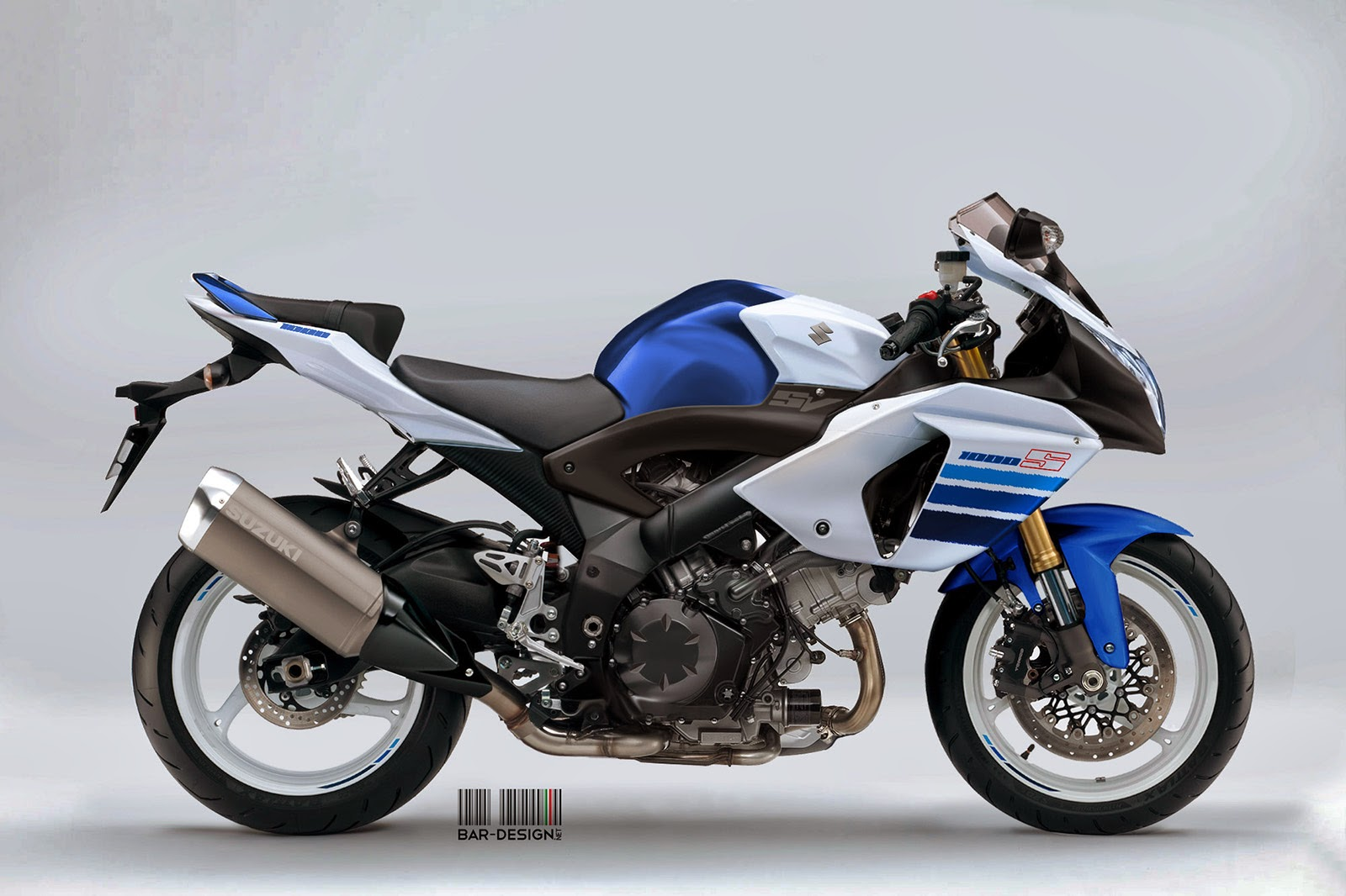 suzuki sv1000 by luca bar might just make you drool. Black Bedroom Furniture Sets. Home Design Ideas