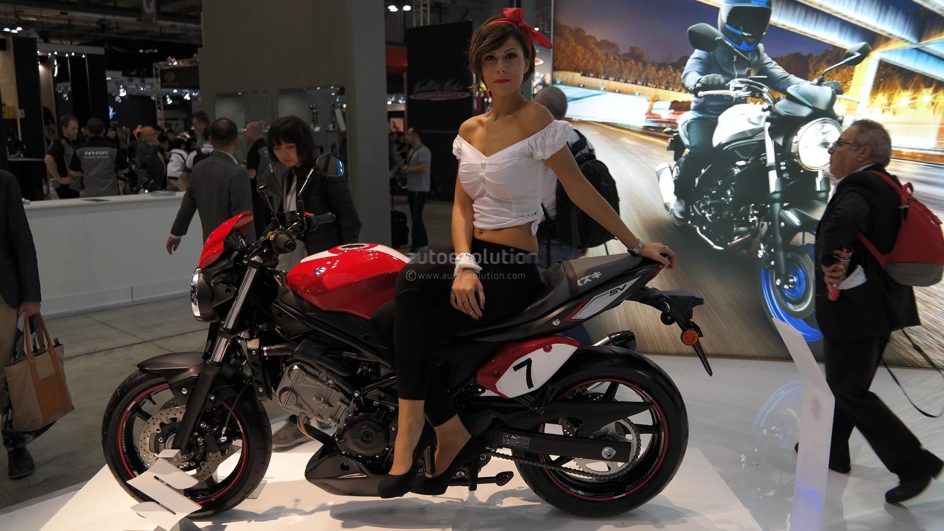 The new Suzuki SV650 ...