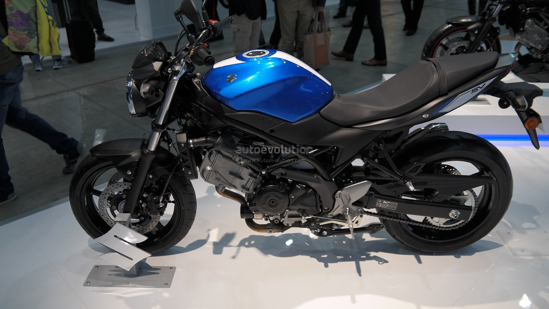 Suzuki Sv650 And Dl650 V Strom Engines Are Euro4 Compliant Wiring Diagram For Racing The New