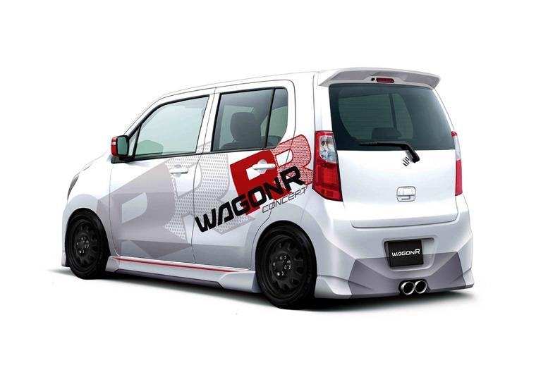 Suzuki Wagon R Gets Tuned for Tokyo Auto Salon