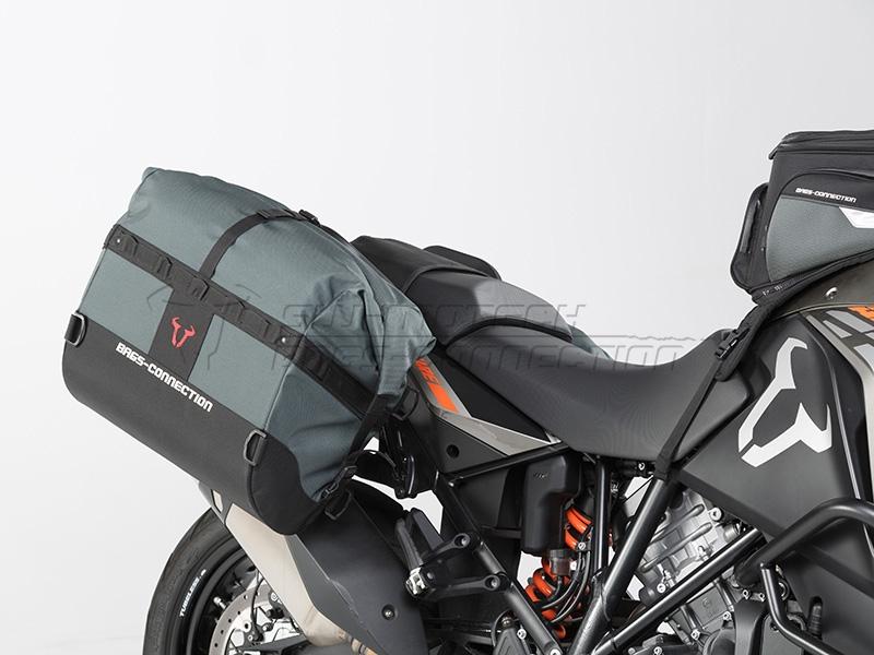 Sw Motech Shows Dakar A New Soft Bag Luggage System