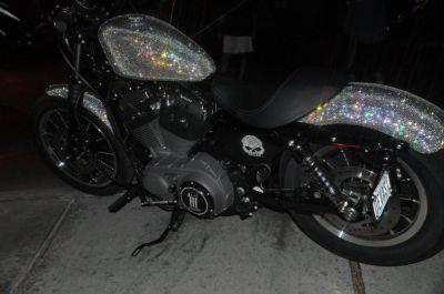 Swarovski Bling On Harley Davidson Sportster Autoevolution