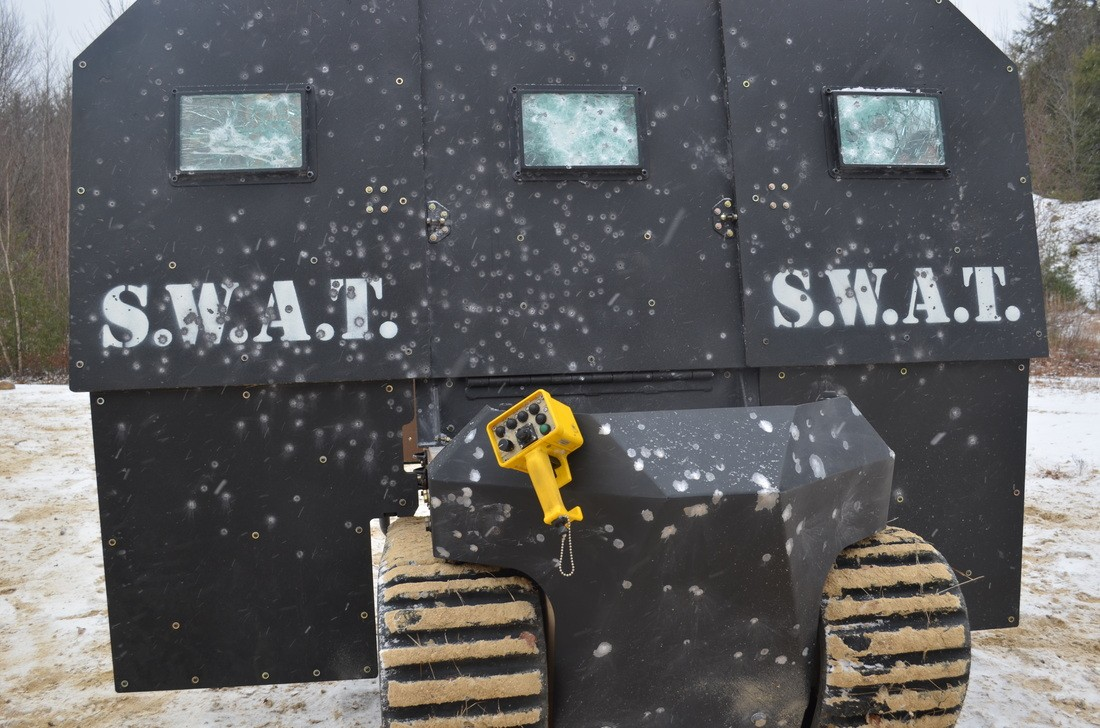 Swat Bot Is A Mid Sized Robot That Keeps Villains At