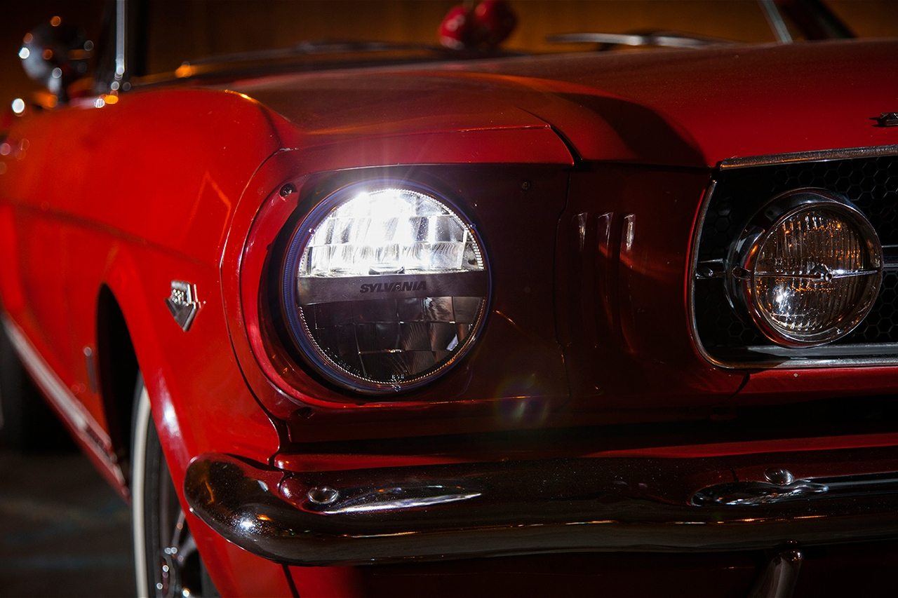 Halogen Light For Cars >> Sylvania Zevo LED Lights Combine Retro Looks With Modern Lighting Solutions - autoevolution