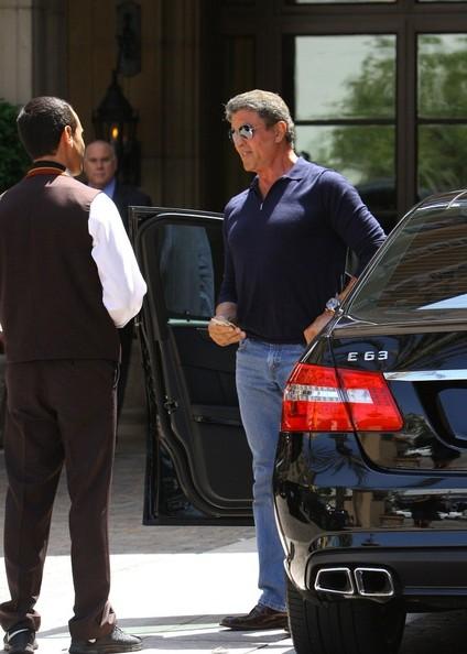 Mercedes S63 Amg Coupe >> Sylvester Stallone Drives a Mercedes E63 AMG - autoevolution