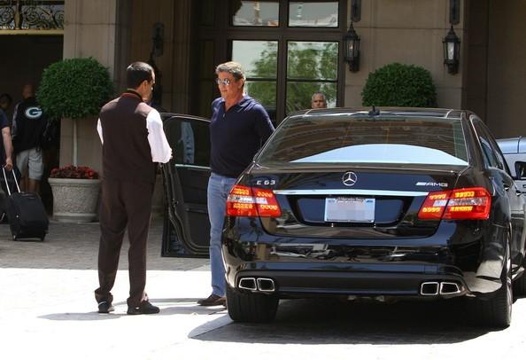 Sylvester Stallone Drives A Mercedes E63 Amg Autoevolution