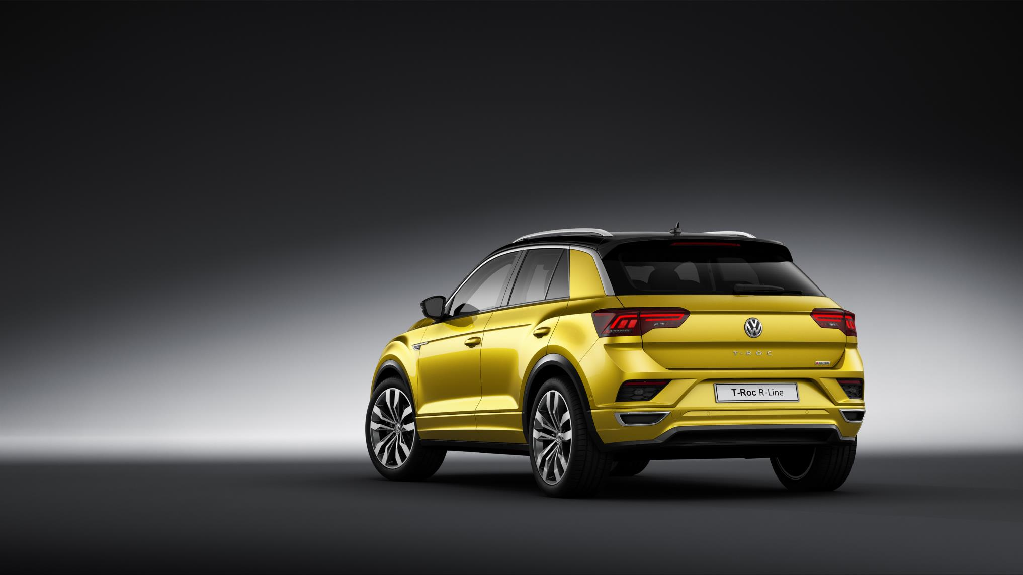 Volkswagen T-Roc and Tiguan Allspace now available in R-Line trim