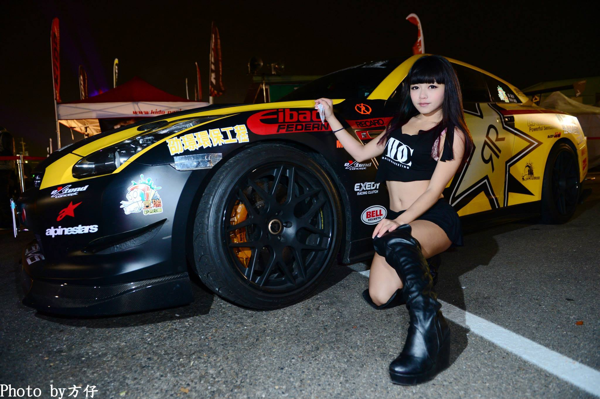 Taiwanese Boobkhana Has Stig Drifting A Trike And Screaming Girls