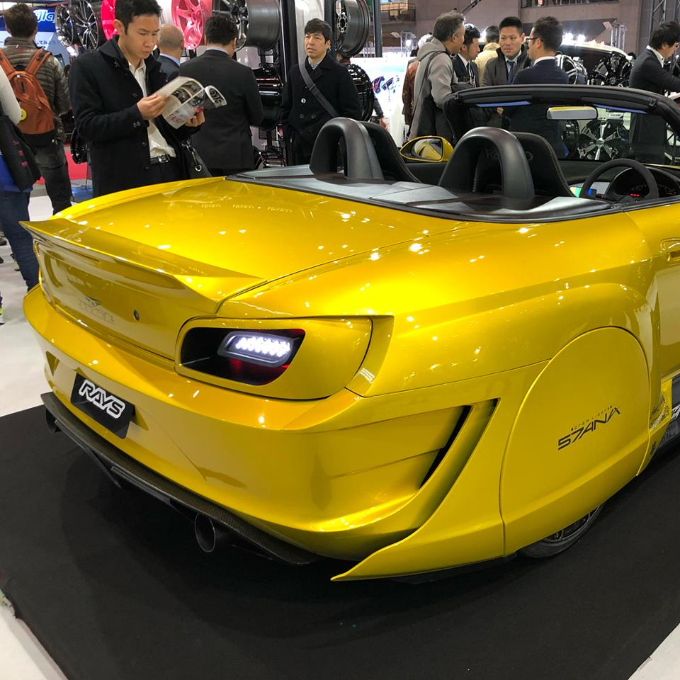 tamon design honda s2000 bodykit looks like a flying car in tokyo autoevolution. Black Bedroom Furniture Sets. Home Design Ideas