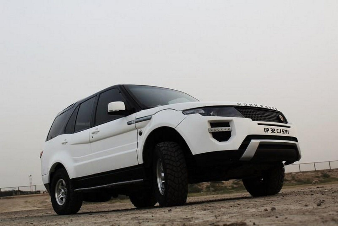 tata 4x4 gets the evoque treatment autoevolution. Black Bedroom Furniture Sets. Home Design Ideas