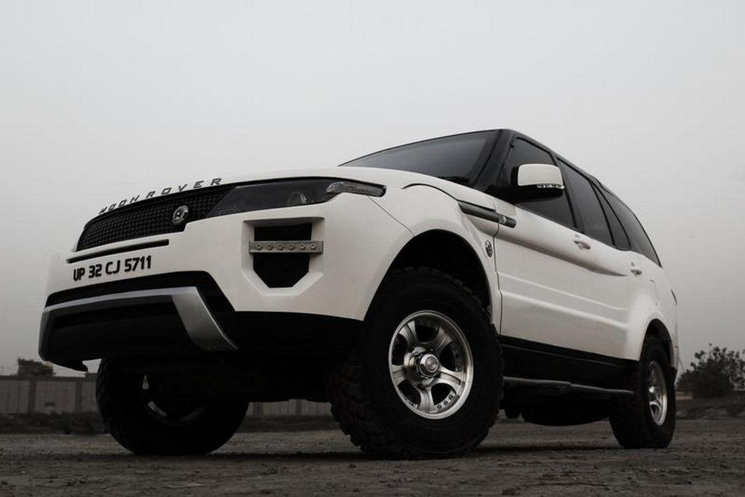 Tata 4x4 Gets The Evoque Treatment Autoevolution