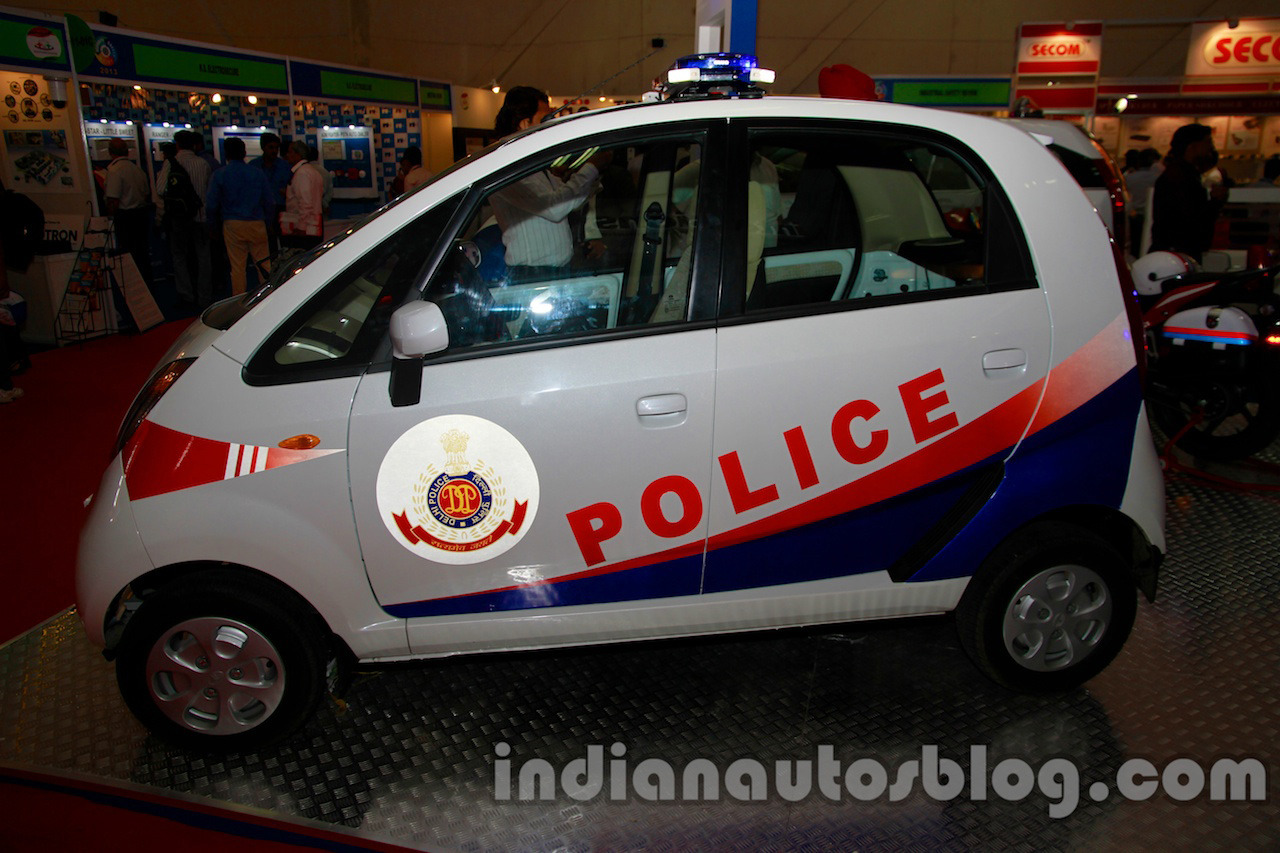 Tata Nano Patrol Car Is The Cheapest Police Cruiser
