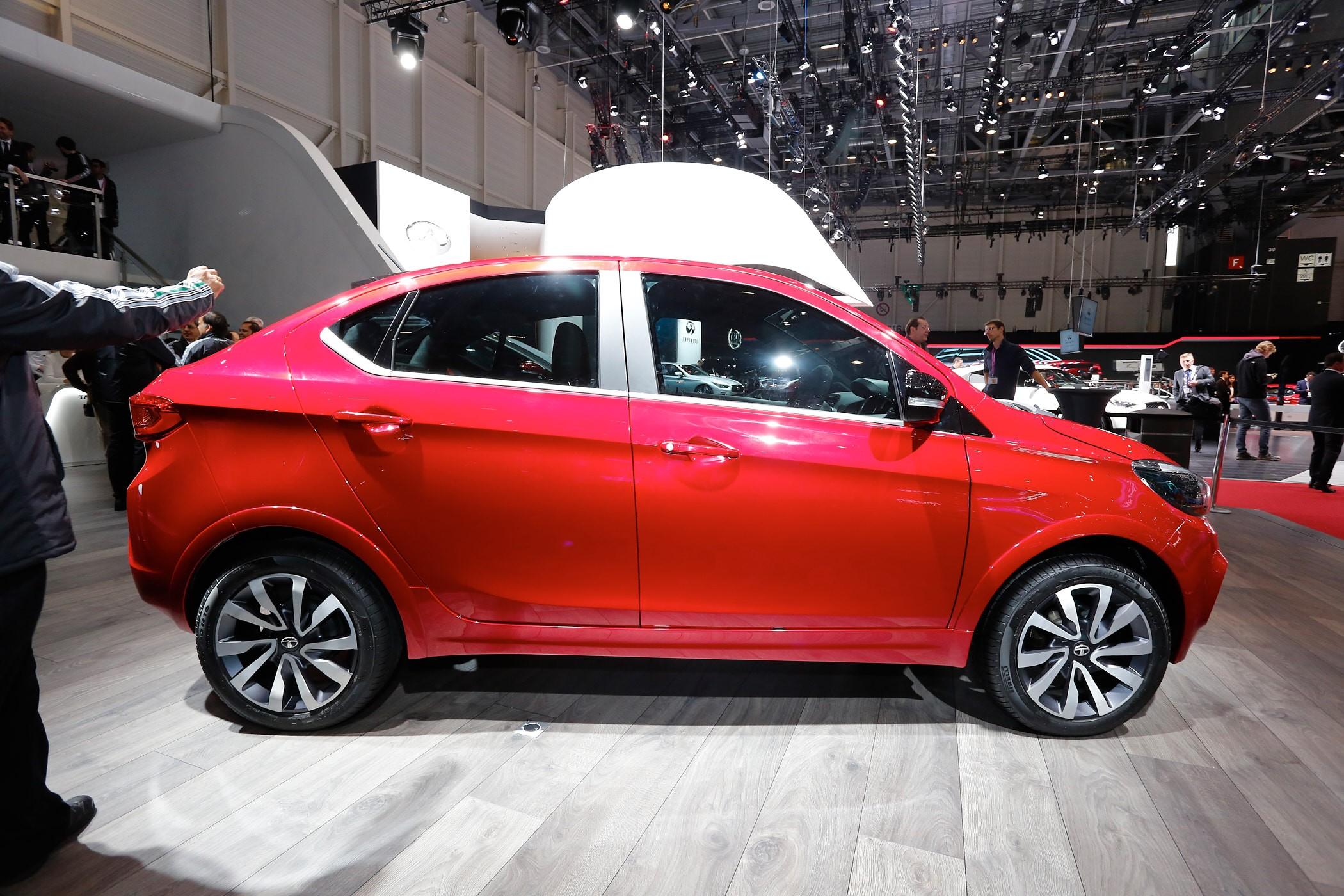 Tata Tigor Unveiled In Geneva It S A Subcompact Model For