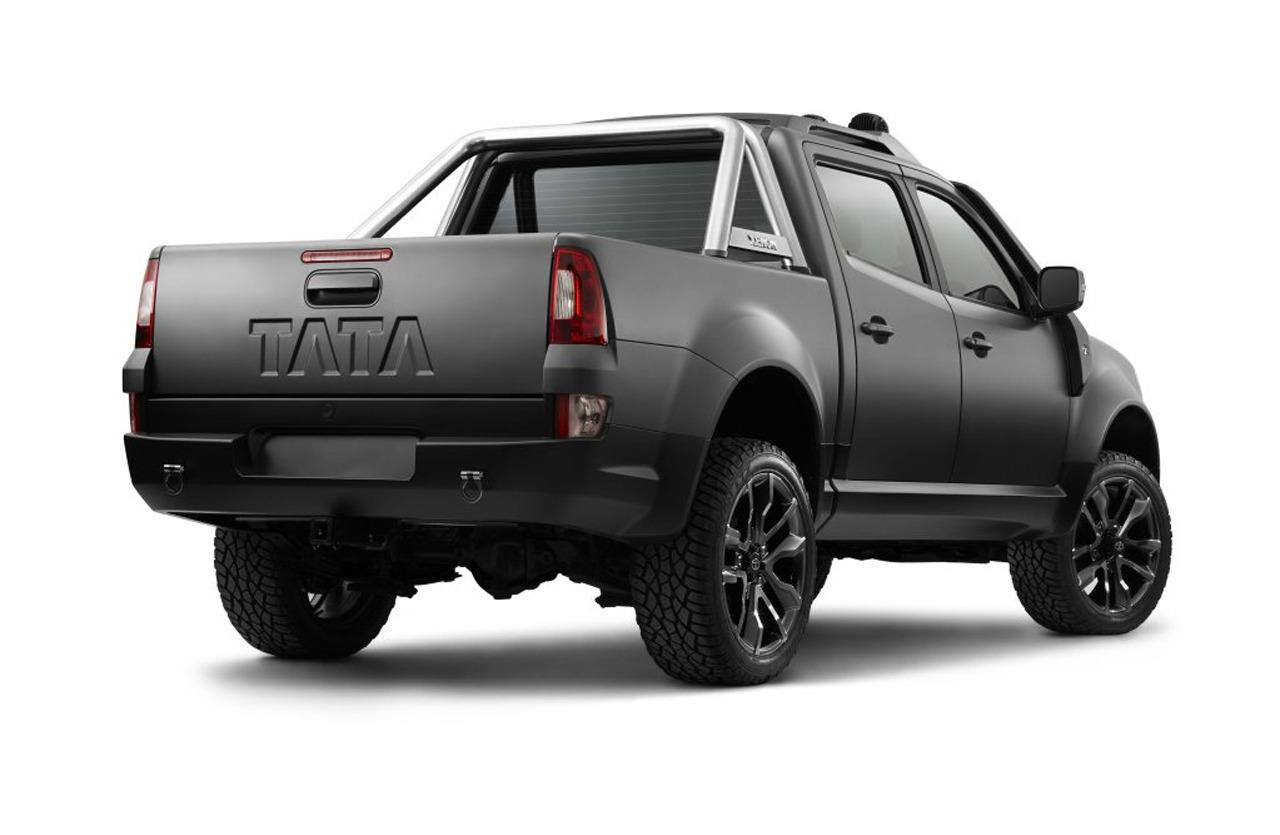 Tata Unveils Xenon Tuff Truck Concept - autoevolution