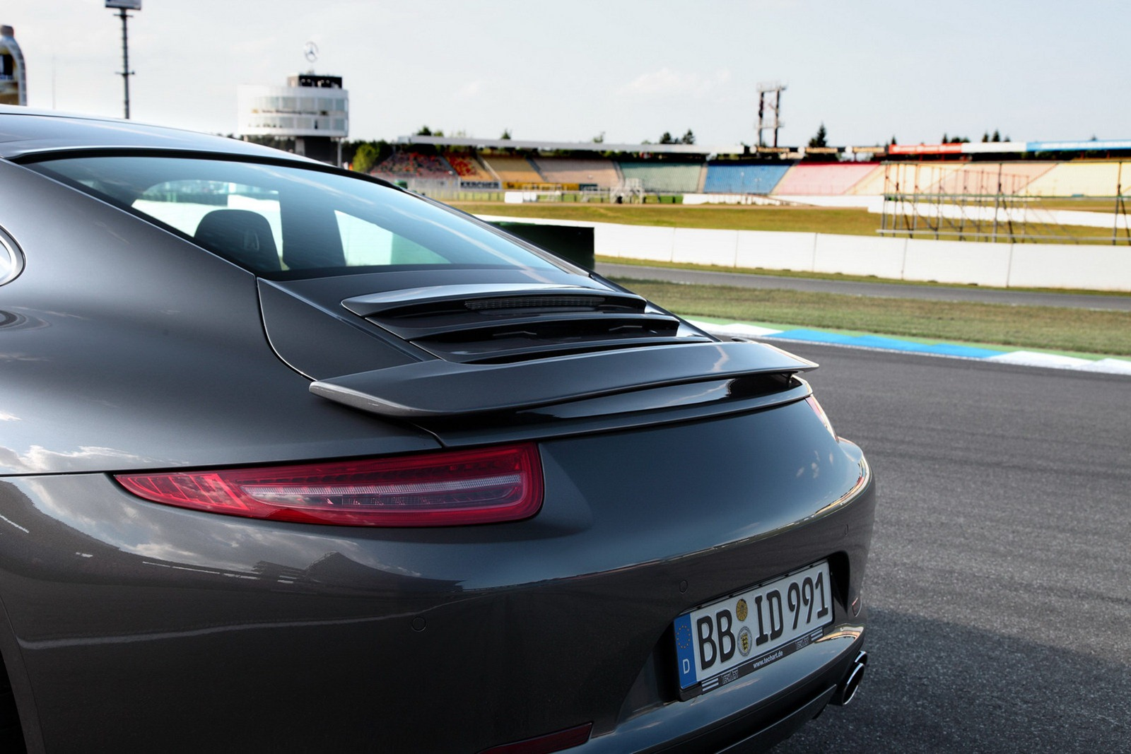 Techart Porsche 911 Spoiler Range For 2012 Autoevolution