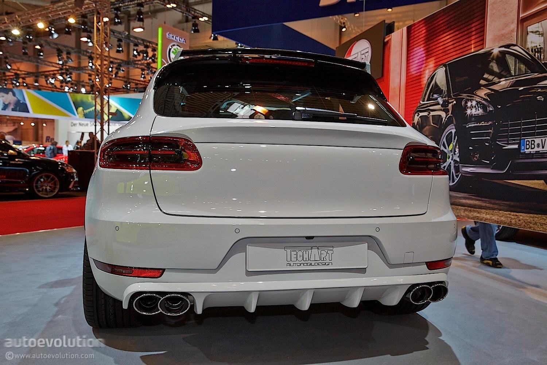 Techart Porsche Macan Turbo Feels Lavish At Essen 2014