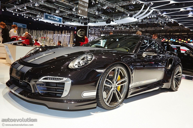 Techart Presents Modified Porsche Turbo S In Geneva