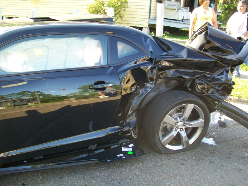 Teen With No Driver S License Spanks Chevy Camaro Ss