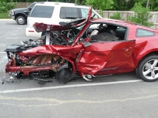 Green Hellcat For Sale >> Teens Destroy a 2010 Mustang in Crash - autoevolution