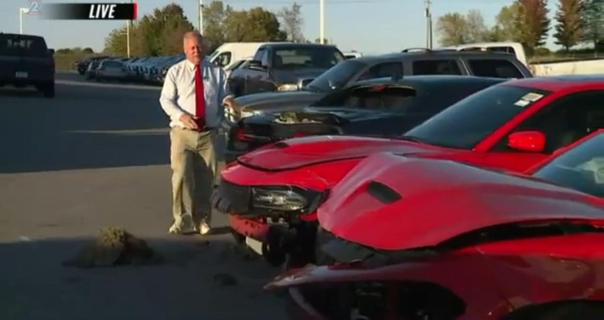 Teens Steal Three Dodge Hellcats Make It Less Than A Mile