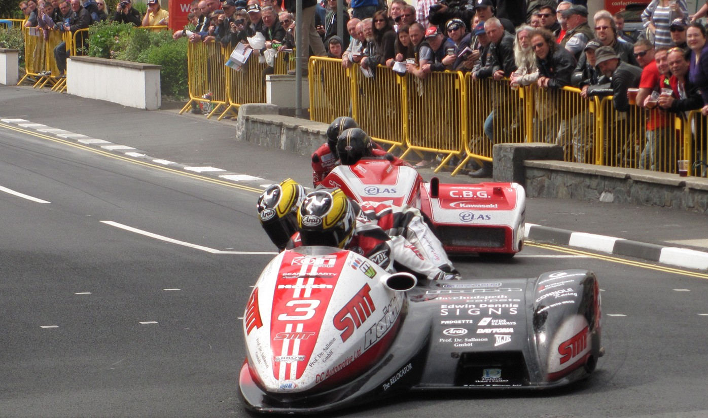 A View Of The Sidecar Race 2013 Isle Man TT Three Watch Ideas