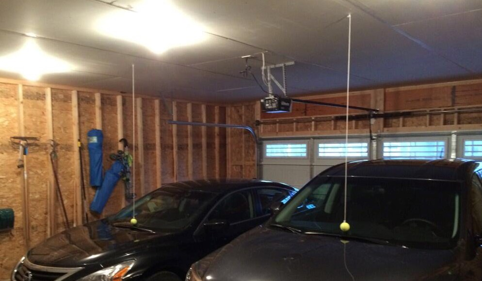 Ten cheap car hacks that may help you deal with day to day issues hanging tennis balls in a four car garage to make sure everyone does not exceed solutioingenieria Gallery