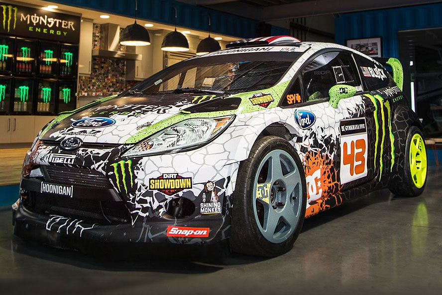 Who Invented The First Car >> Ken Block Shows Japanese Model His Gymkhana Moves ...