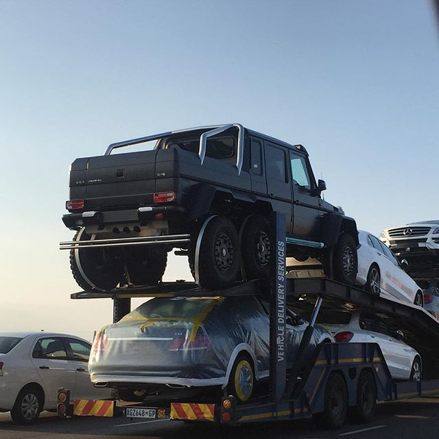Ten Mercedes Benz G63 Amg 6x6s Reach South Africa Might