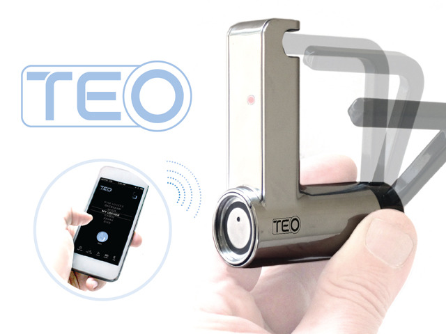 Teo The Keyless Padlock Could Protect Your Bicycle
