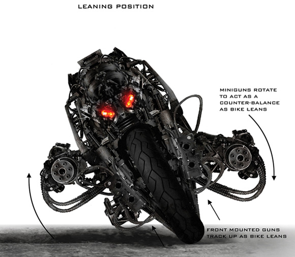 Terminator Salvation Motorcycle Based On Ducati