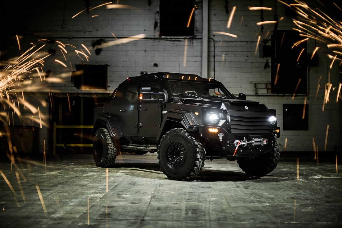 terradyne gurkha rpv civilian edition is the closest thing to a tank on the road autoevolution. Black Bedroom Furniture Sets. Home Design Ideas
