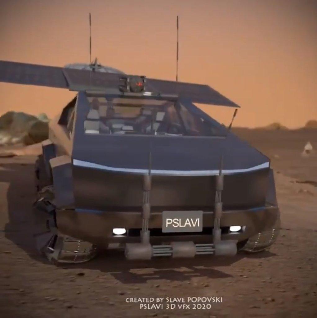 Tesla Cybertruck Next to Ford F-150 Raptor Shows Weird But ...