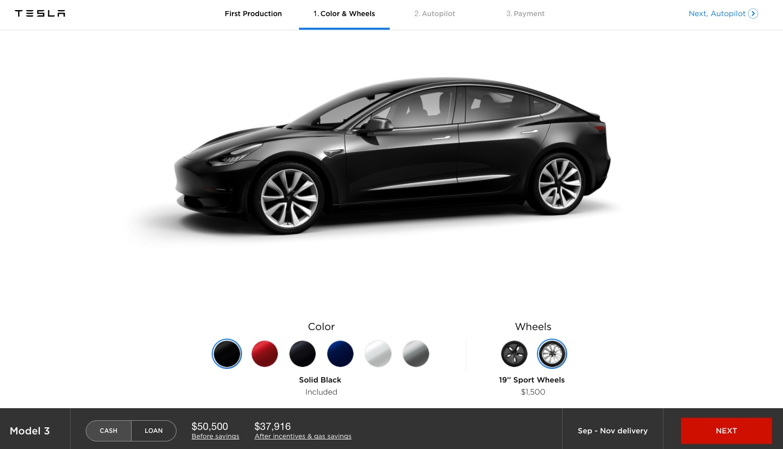 early tesla investor says model 3 drives like a porsche autoevolution. Black Bedroom Furniture Sets. Home Design Ideas