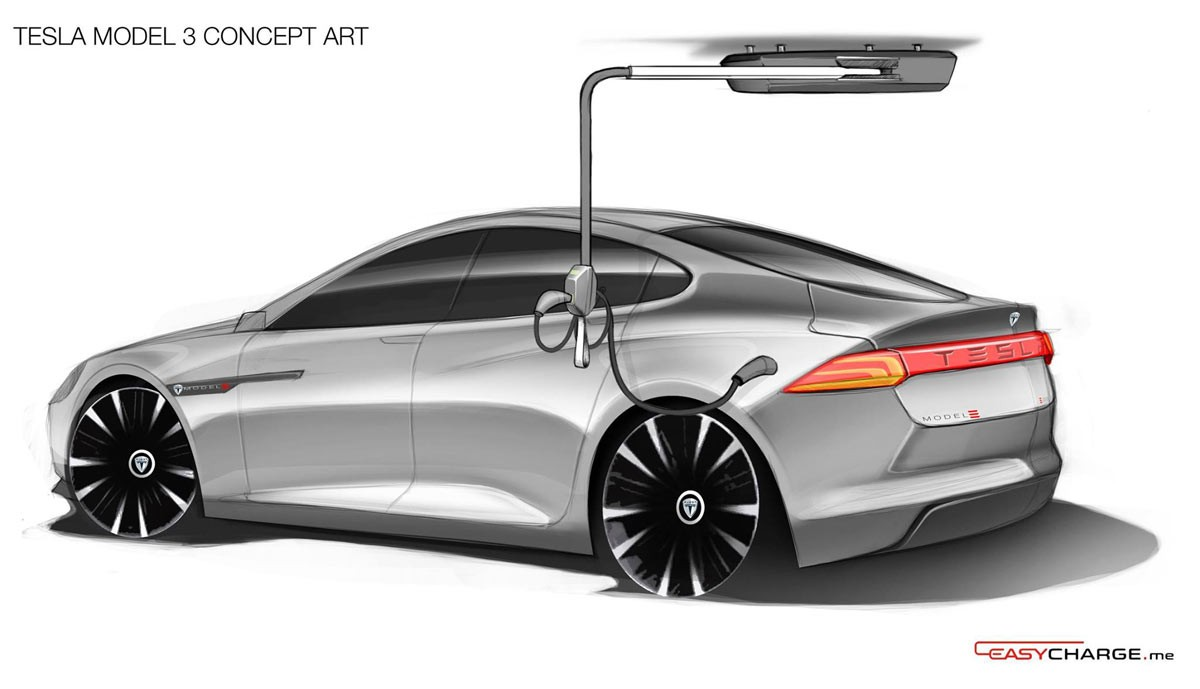 Tesla Model 3 Has Doors And Crossover Ego In Latest Sketches