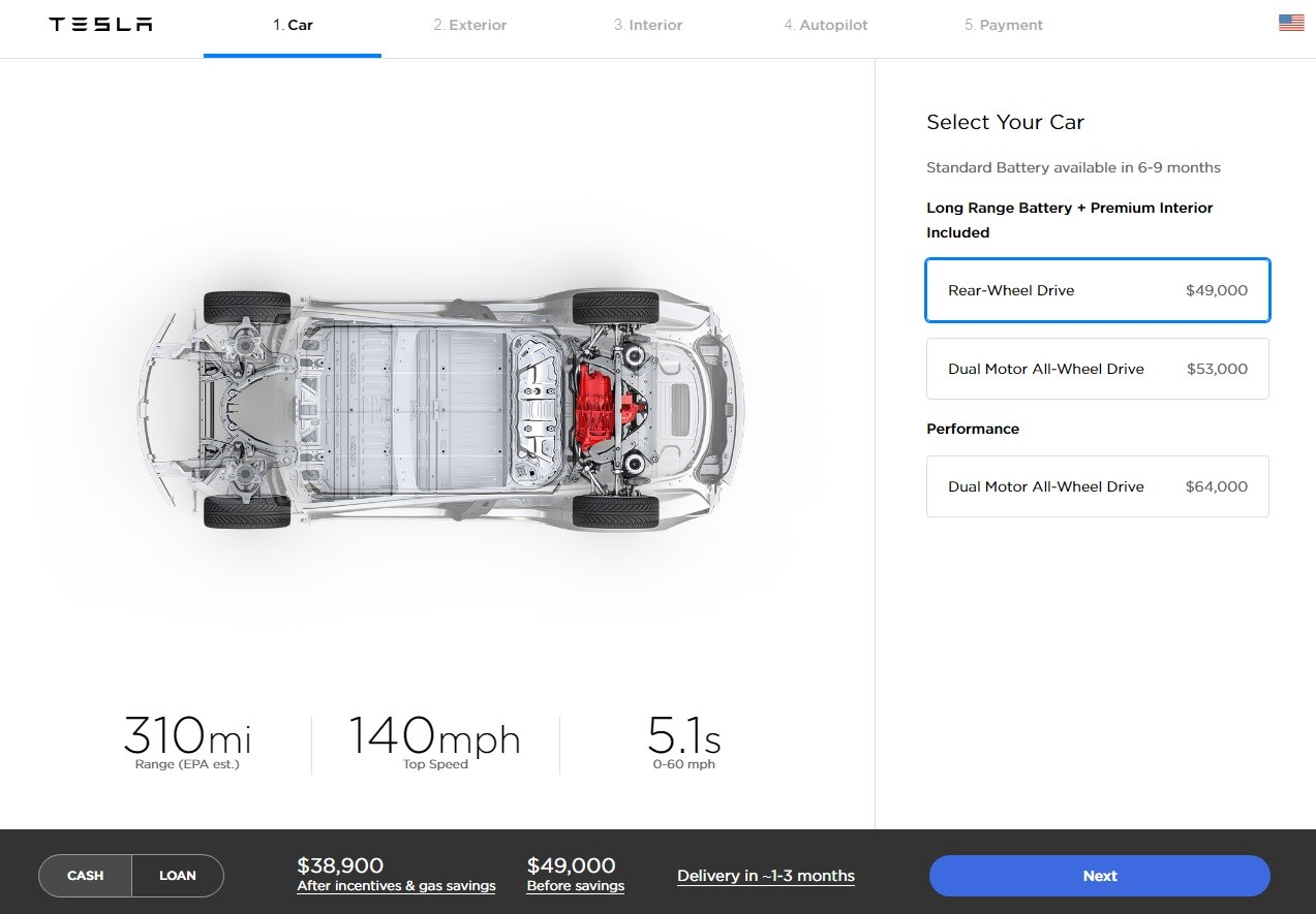 Tesla Model 3-inspired Interior Facelift Coming in Q3 2019 ...