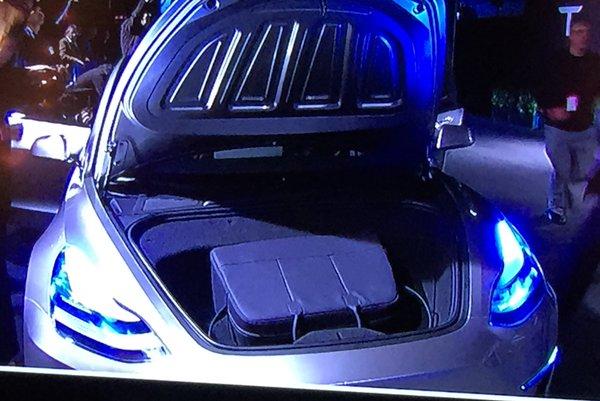 Tesla Model 3 Frunk Front Trunk