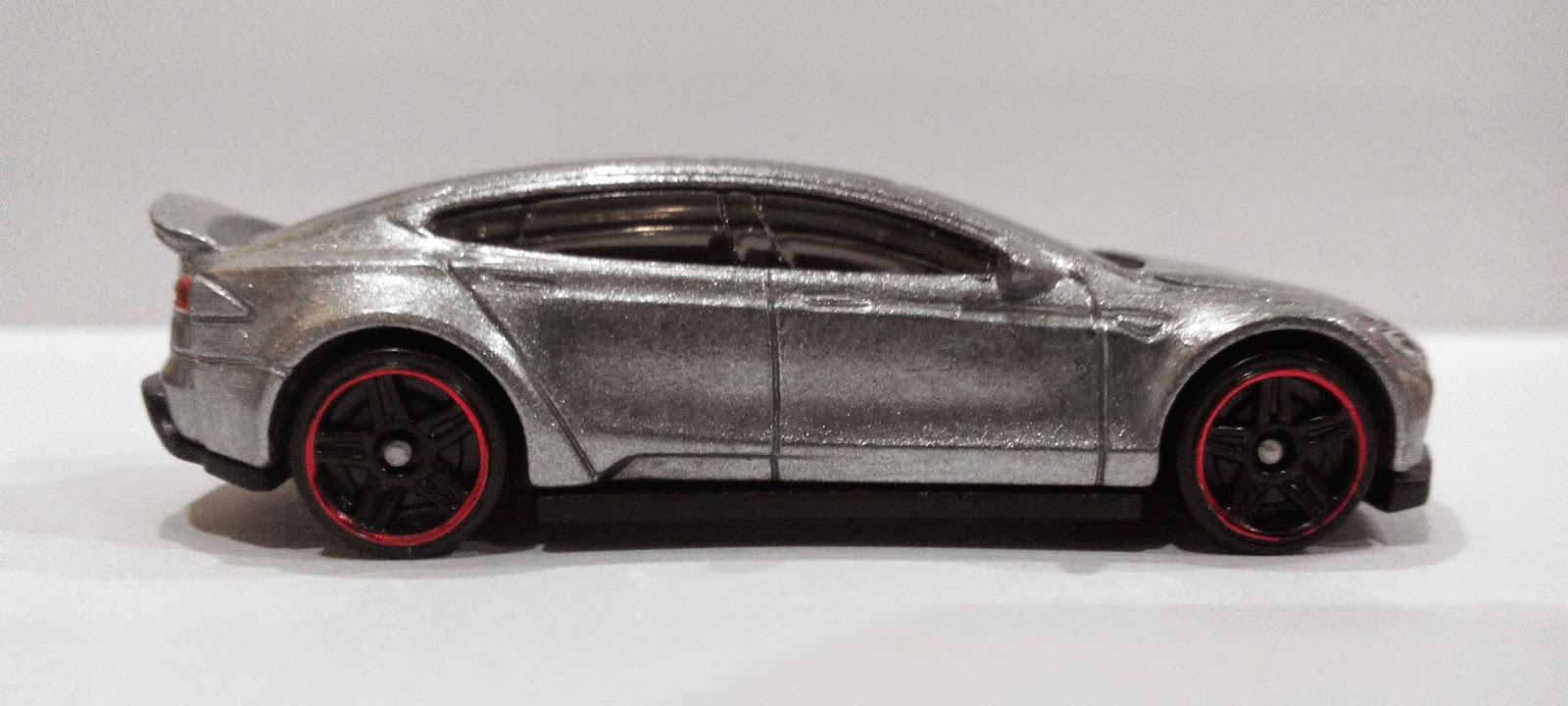 Tesla Model S Matchbox Car