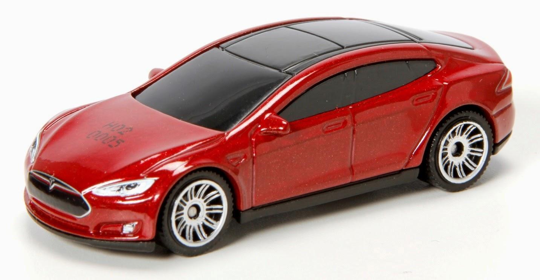 Tesla Model S Matchbox Car