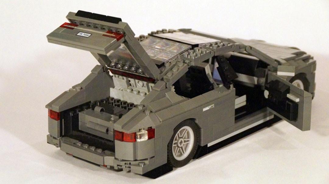 Tesla Model S Lego Set Proves You Can't Fit a Square Peg ...