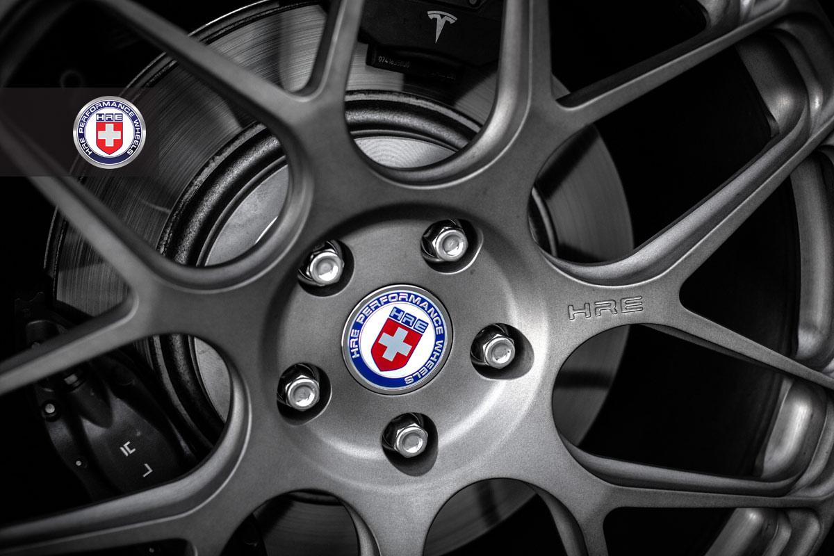 Tesla Model S on HRE Wheels - autoevolution