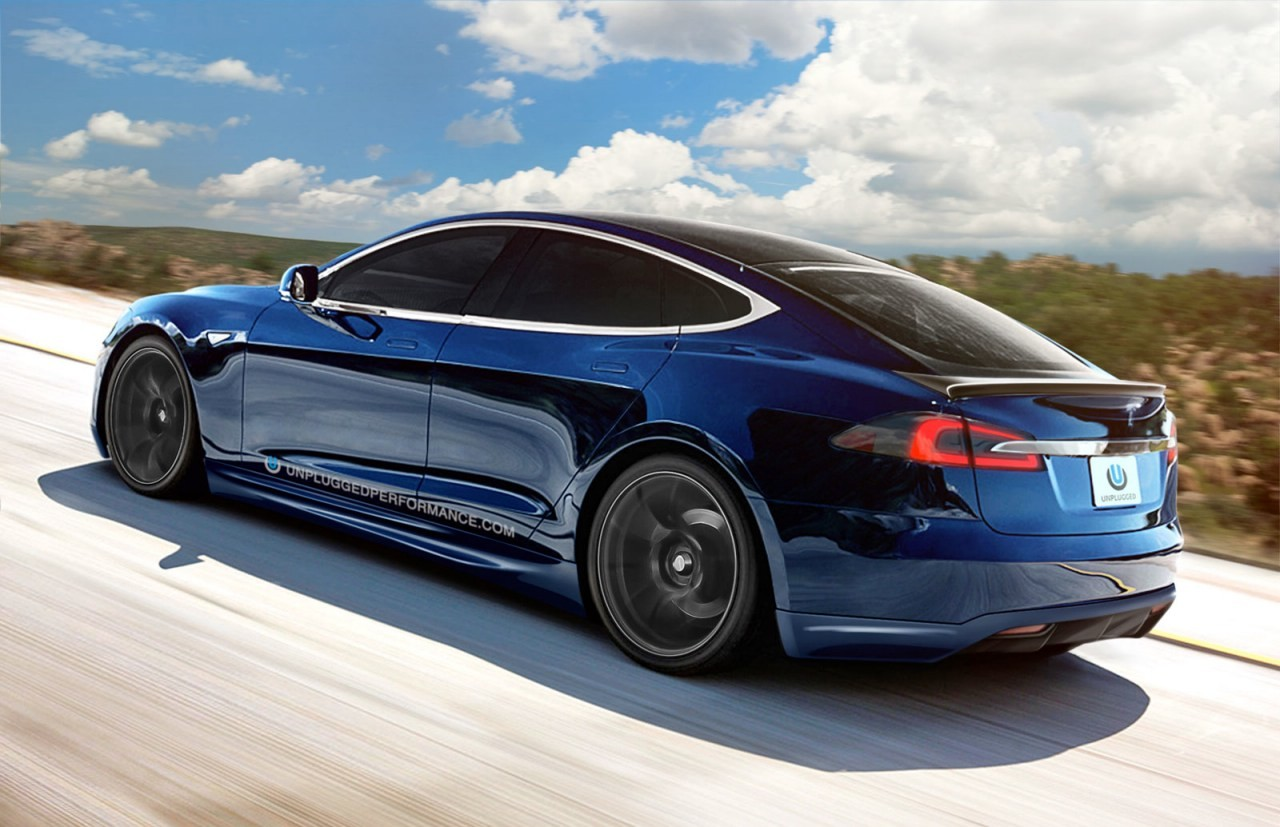Tesla Model S Tuned By Unplugged Performance Looks Rakish