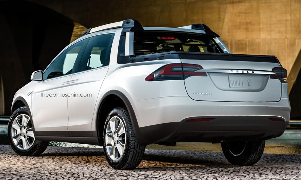 Tesla Model X Pickup Truck Looks Nifty Autoevolution