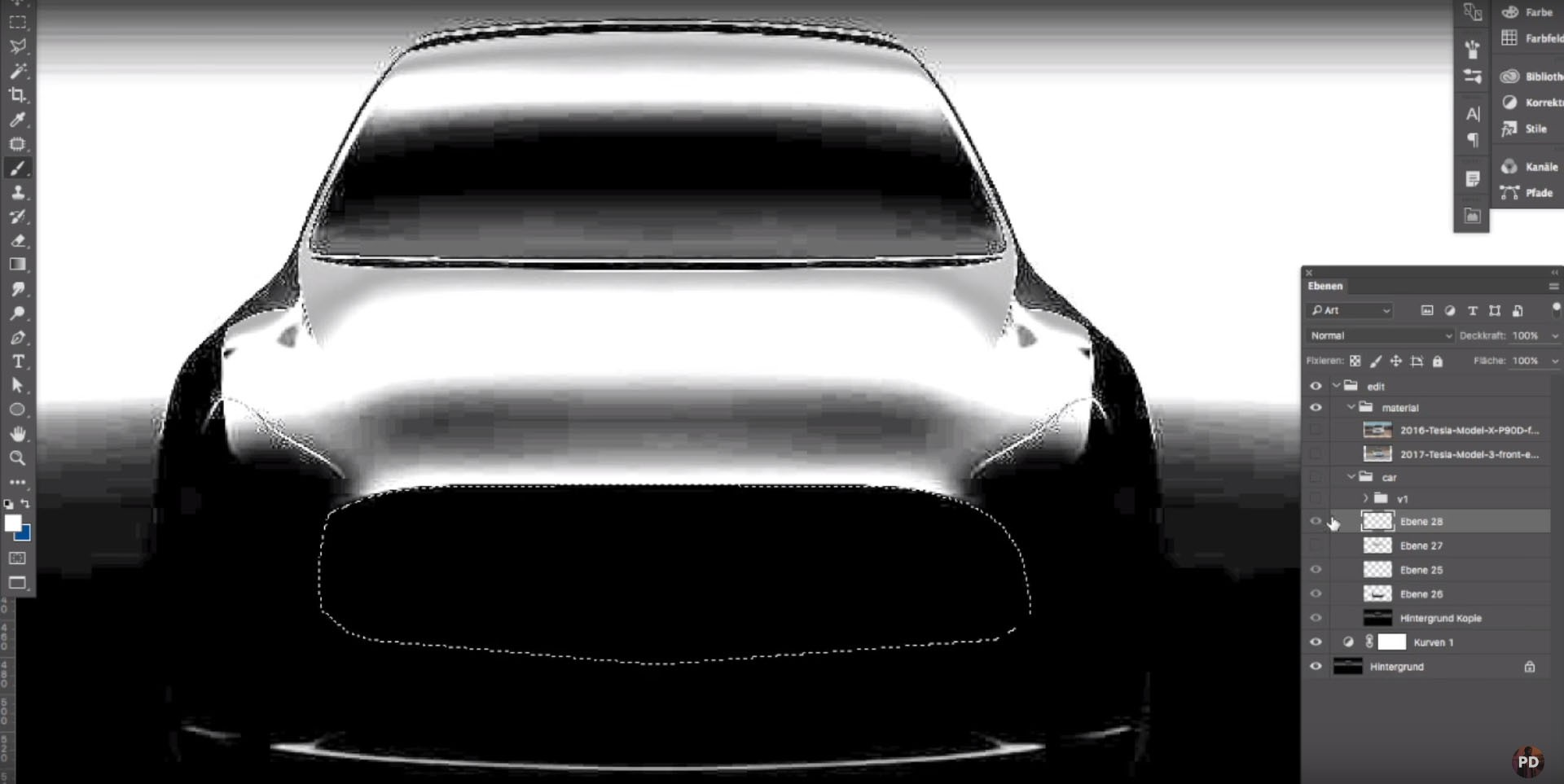 tesla model y to complete elon musk s s3xy lineup in 2019 autoevolution. Black Bedroom Furniture Sets. Home Design Ideas