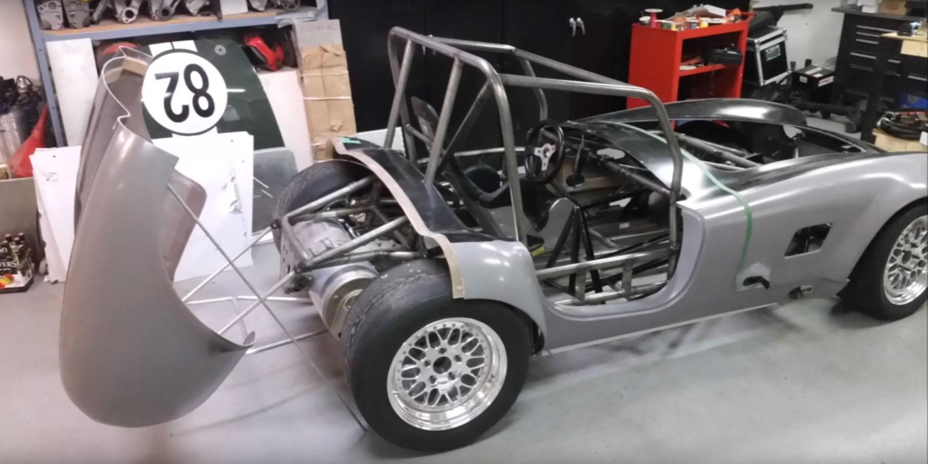 Tesla Powered Shelby Cobra Replica To Hit The Race Tracks
