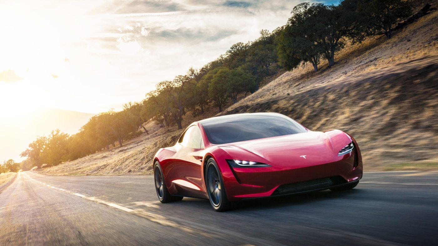 Elon Musk teases rocket-powered flying roadster