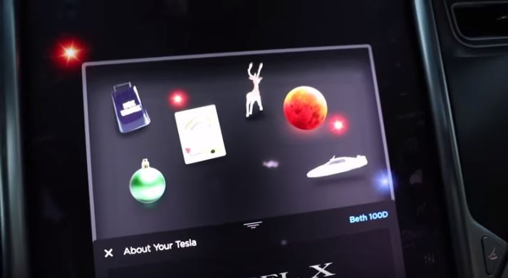 Tesla wishes customers happy holidays with its latest Easter egg