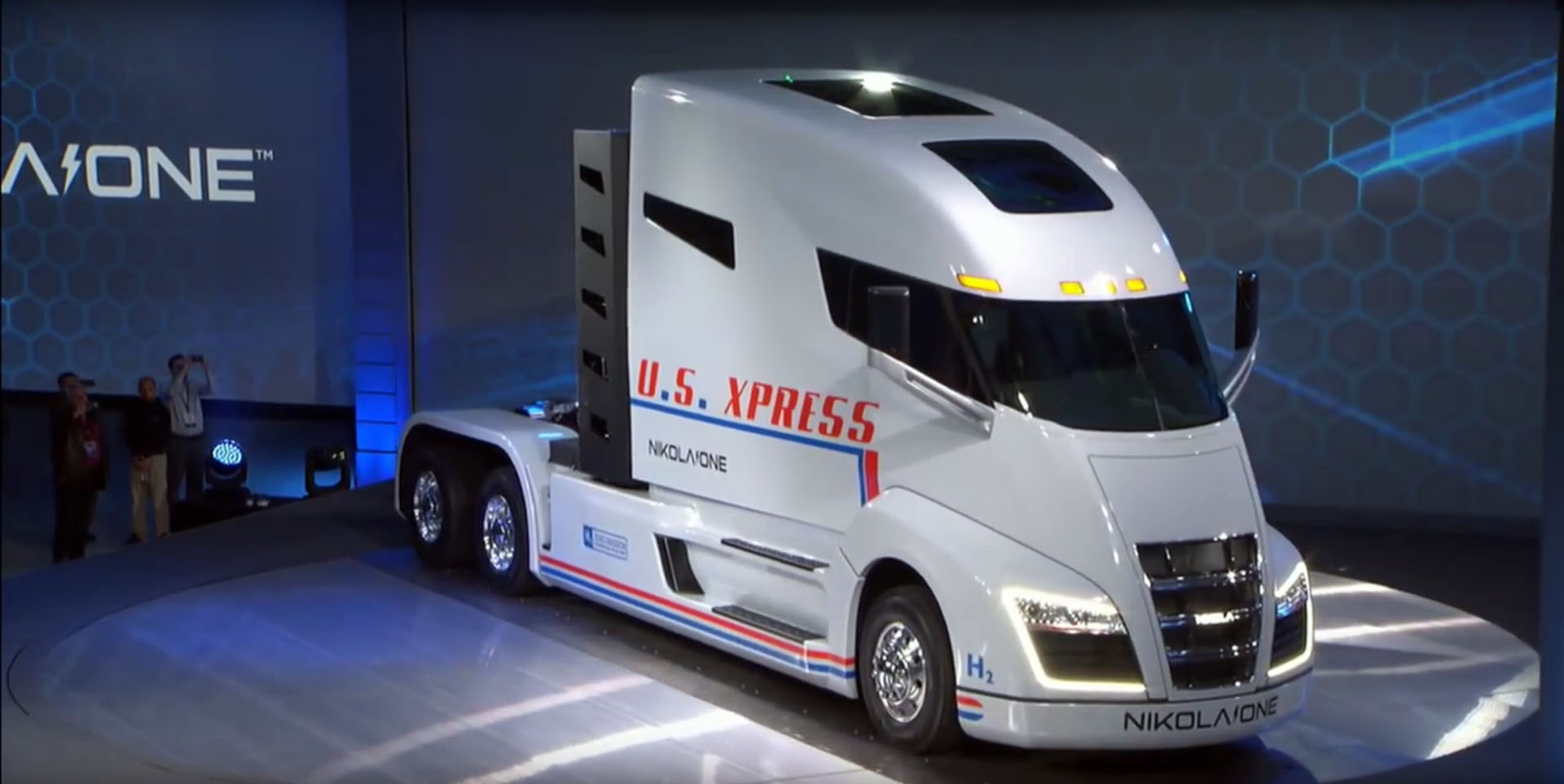 Tesla accused of copycat semi truck design in $2 billion patent lawsuit